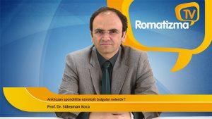 Prof. Dr. Süleyman Koca - Ankilozan spondilitte nörolojik bulgular nelerdir?